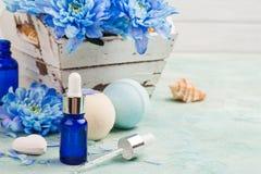 Essential oil spa treatment Stock Photo