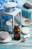 Essential oil spa treatment Royalty Free Stock Photography