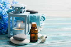 Essential oil spa treatment Royalty Free Stock Image
