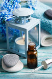 Essential oil spa treatment Stock Image