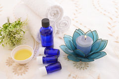 Essential oils Royalty Free Stock Photos