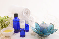 Essential oils Royalty Free Stock Images