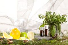 Essential oils Stock Image