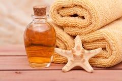 Essential Oils Spa Decor Royalty Free Stock Photo