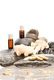 Essential oils from spices Stock Photos