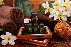 Essential oils Stock Images
