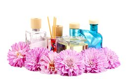 Essential perfume oil Stock Images