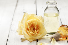 Essential Rose Extract Stock Photography