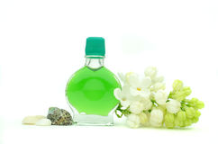 Essential spa oil Stock Photography