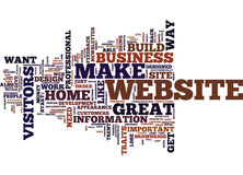 Essential Traits Of A Home Business Website Text Background  Word Cloud Concept. ESSENTIAL TRAITS OF A HOME BUSINESS WEBSITE Text Background Word Cloud Concept Royalty Free Stock Image