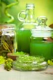 essentials oils salt spa Στοκ εικόνα με δικαίωμα ελεύθερης χρήσης