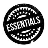 Essentials rubber stamp Royalty Free Stock Images