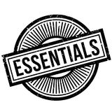 Essentials rubber stamp Royalty Free Stock Image