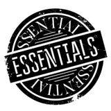 Essentials rubber stamp Stock Photos