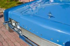 ESSENTUKI, RÚSSIA - 28 DE JULHO DE 2012: Exposição de carros velhos em ESSENTUKI, RÚSSIA Imagens de Stock