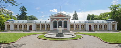 Essentuky. The upper mineral baths. (Nikolaev tub). The building was built in 1898 royalty free stock photos