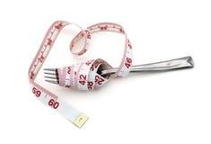 Essere a dieta per allentare peso Fotografie Stock Libere da Diritti