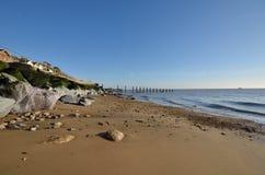 Essex Beach with sand Stock Photos