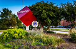 The Essex Cube in Essex, Maryland. Royalty Free Stock Images