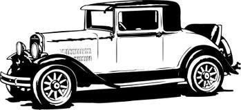 1930 Essex Illustration. A vector illustration of a 1930 Essex automobile royalty free illustration