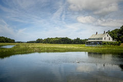 Essex Salt Marsh Stock Photo