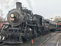 Essex Steam Train in Connecticut. USA Royalty Free Stock Photo