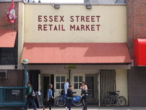 Essex Street Market in New York Royalty Free Stock Photo