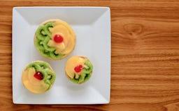 Essfertiges zehntes Bild der kolumbianischen Bäckereiprodukte Stockbild