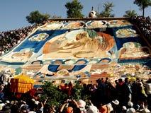 Essiccamento al sole del ritratto del Buddha Immagine Stock Libera da Diritti