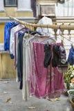 Essiccamento della vostra lavanderia immagine stock