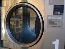 Essiccatore di caduta della lavanderia automatica Fotografia Stock