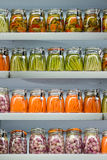 In Essig eingelegtes Gemüse. Lizenzfreies Stockbild