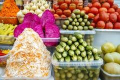 In Essig eingelegtes Gemüse Lizenzfreie Stockfotos