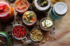 In Essig eingelegtes Gemüse Lizenzfreie Stockfotografie