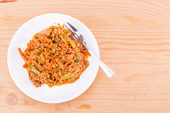 In Essig eingelegtes Gemüse oder acar, eine populäre Küche in Malaysia Stockfoto