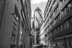 Essiggurke London stockbilder