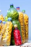 Essiggurken auf freiem Markt stockfoto