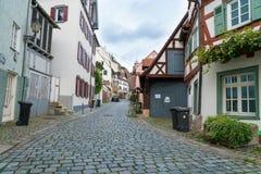 Esslingen美丽如画的小德国镇  库存照片