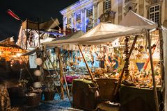 Esslingen Christmas Market Royalty Free Stock Images