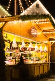 Esslingen Christmas Market Stock Photos