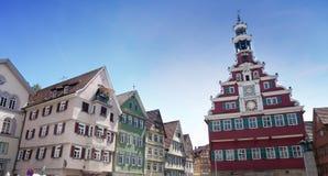 Esslingen am Neckar, Baden Wurttemberg, Niemcy Zdjęcie Stock