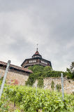Esslingen am Neckar Castle's Big Tower, Germany Stock Photo