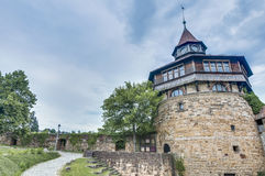 Esslingen am Neckar Castle's Big Tower, Germany stock image