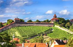 Esslingen am Neckar, Germany, scenic view of the medieval town center Stock Photo