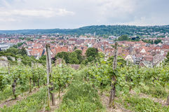 Esslingen am Neckar views from the Castle, Germany Stock Photos
