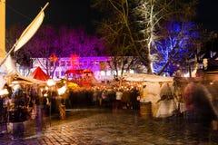 Esslingen-Weihnachtsmarkt Stockfotos