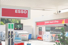Esso fuel station Stock Image