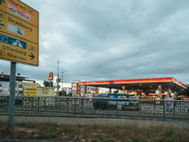Esso gas station in German city of Kehl Stock Photography