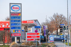 Esso royalty free stock image