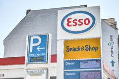 Esso Royalty Free Stock Photos